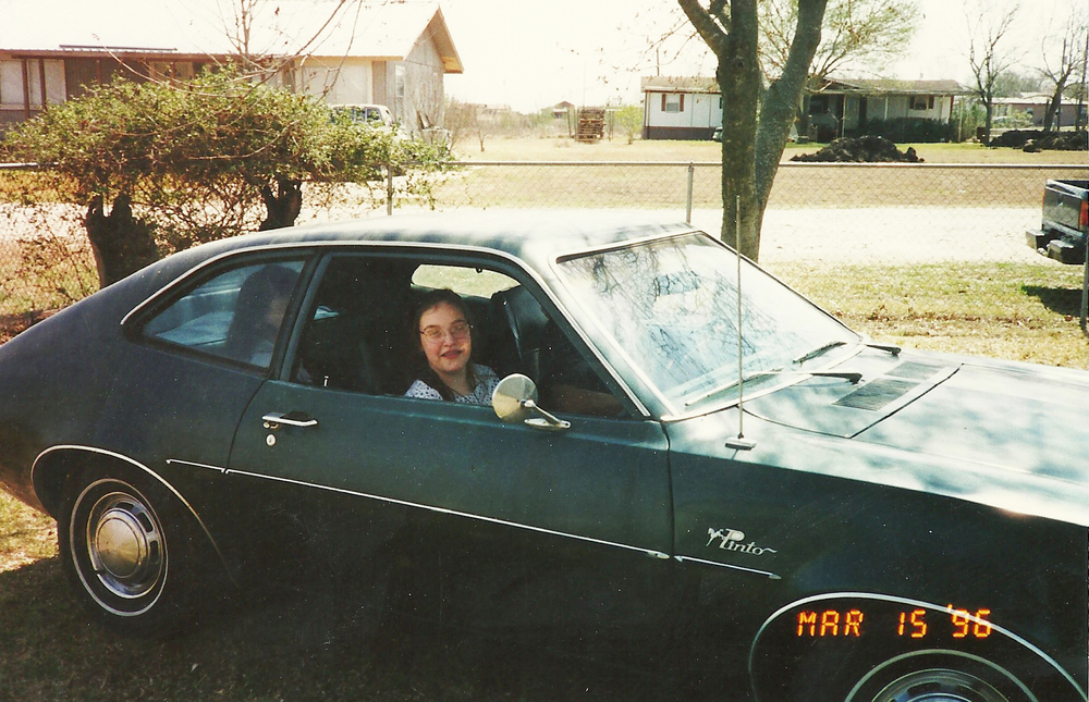 My cousin loved the Pinto for some reason. And for some reason, my dad went out and found one...