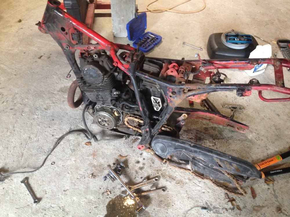 BW350 coming apart