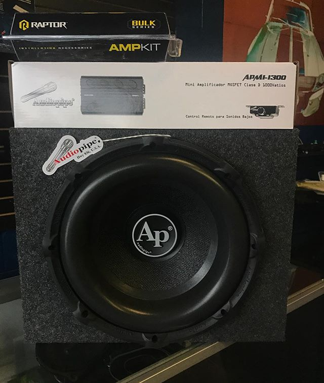 Audiopipe's TXX-BD2 delivers powerful bass, they can handle up to 750 watts RMS. Get your package deal now for only $349.00!  #caraudio #audiopipe #bass #subs #forzacustoms