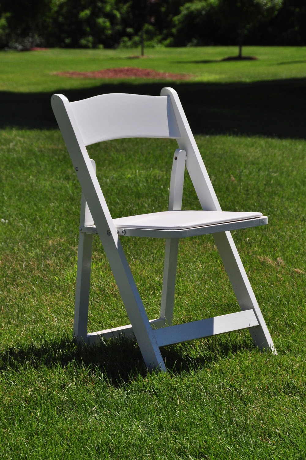 White Resin Garden Chair