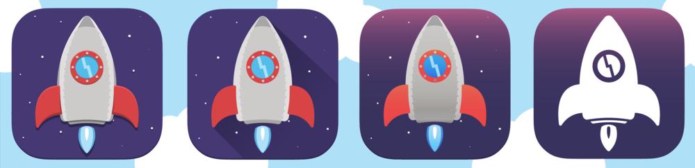 Hard shadows, flat, iOS 7 ugly, iOS 7 clean.