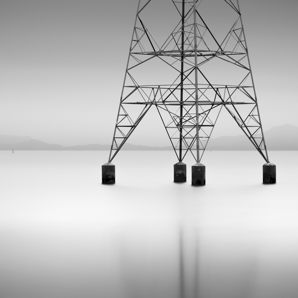 Floating Pylon, Mangere Harbour, 2012