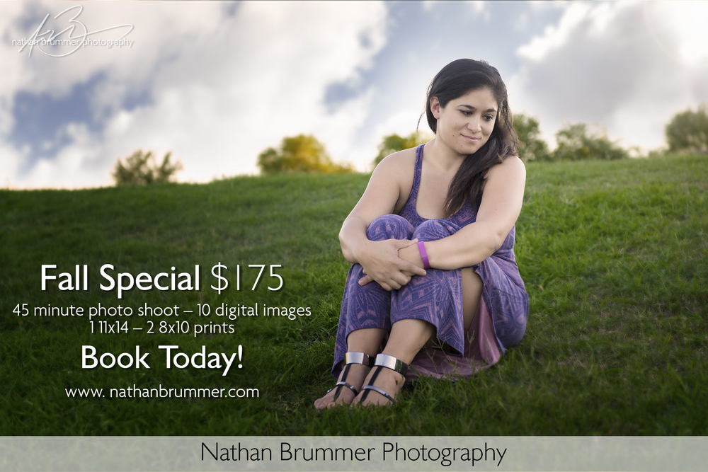 Phoenix Photographer Nathan Brummer Photography ad