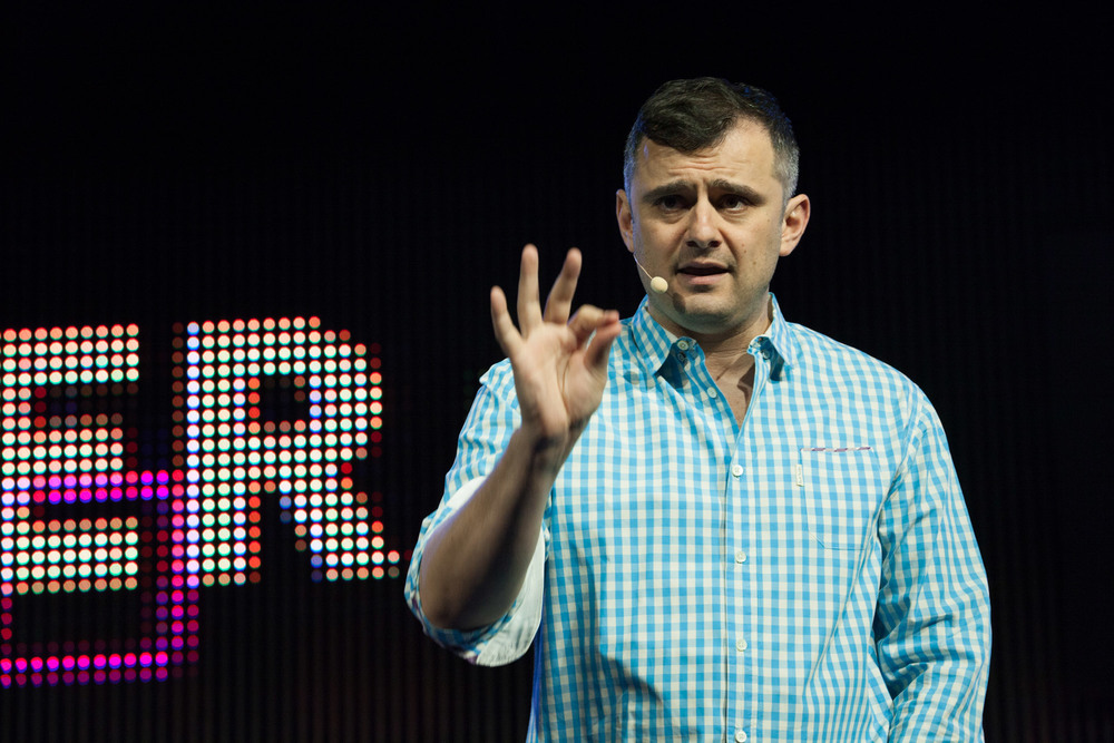 Gary Vaynerchuk dishing out an enthusiastic hour-long wake-up call