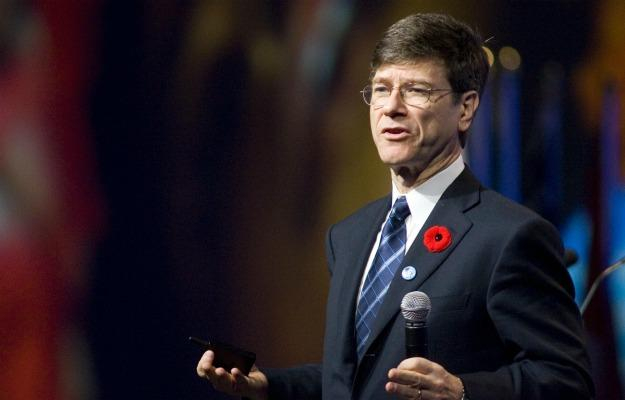 Columbia University professor and Earth Institute Director Jeffery Sachs