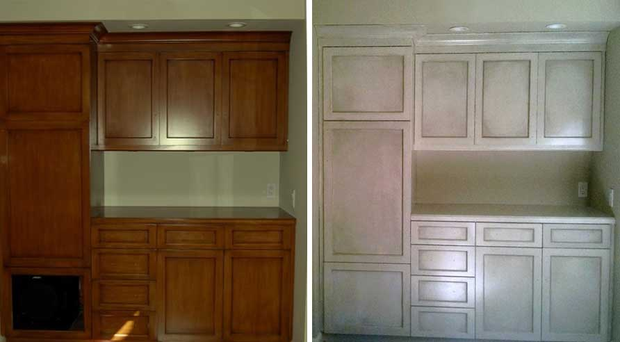 Built in in living room cabinetry