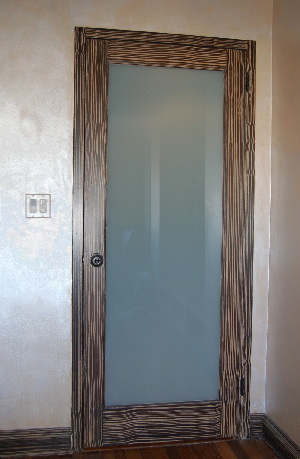 wood graining and pearlescent faux finishing on wall.jpg