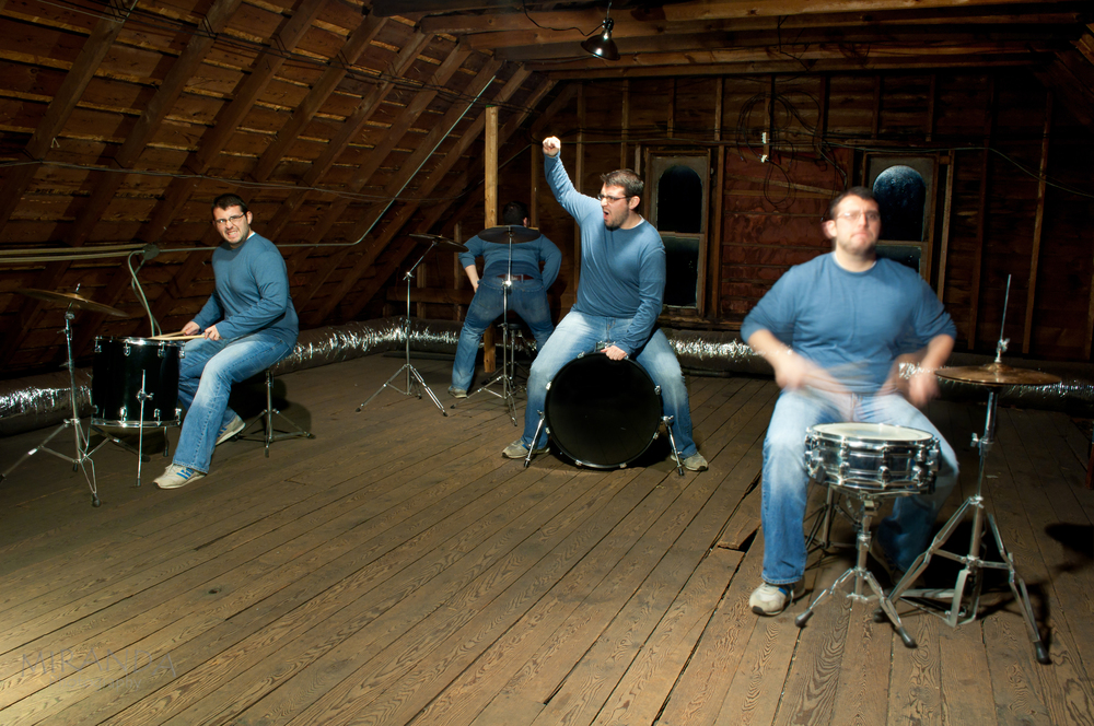 Multiplicity on the Drum set