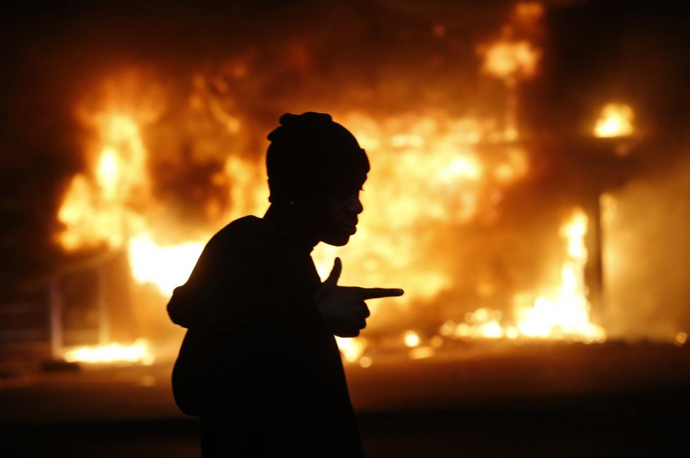 Ferguson Riots - Jim Young