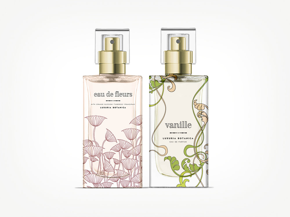 Luxuria Botanica Packaging Concepts