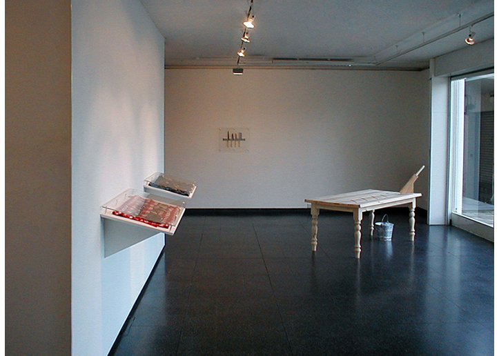 'Emancipation His/Hers'. Leeds Metropolitan Gallery 2000