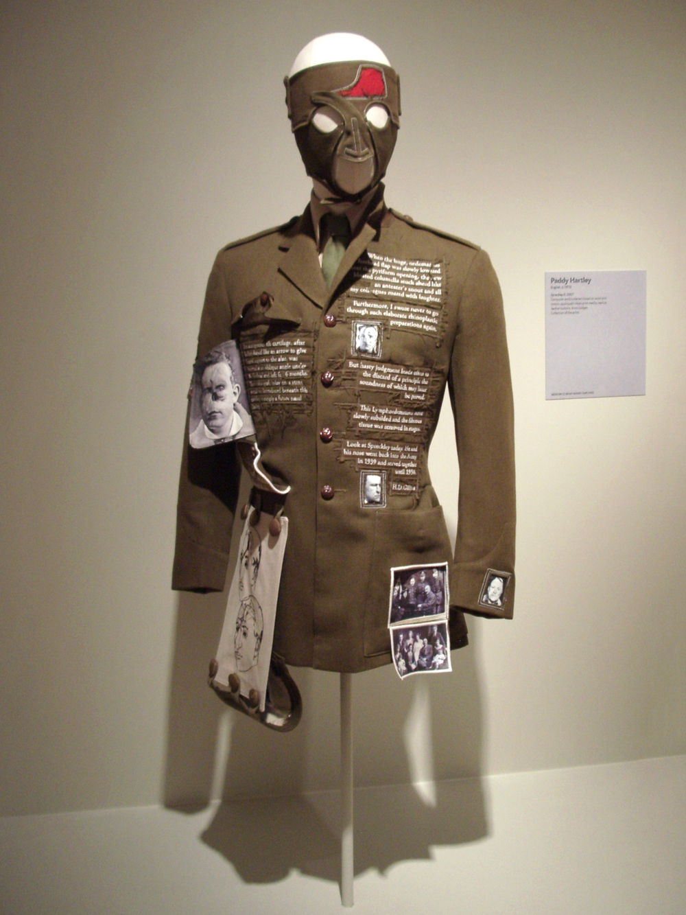 'Pricked'. Extreme Embroidery. Museum of Arts and Design, New York.
