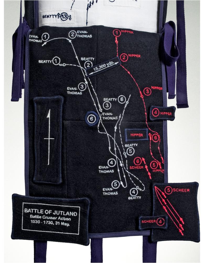 2. Map detailing the Battle of Jutland, where Vicarage was injured.jpg