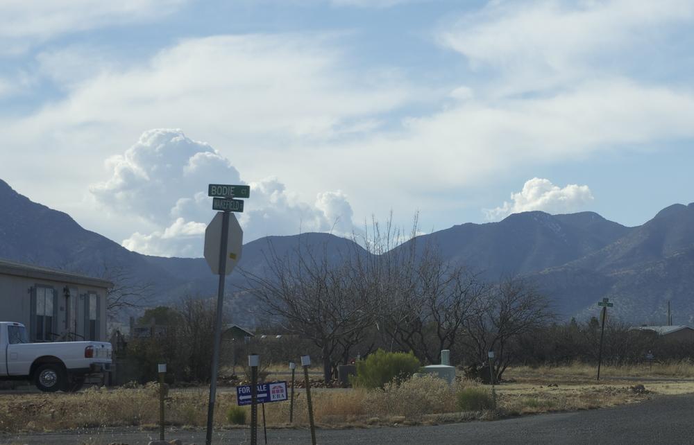 Sierra Vista, Arizona, January 20. Photo by Brian Beker