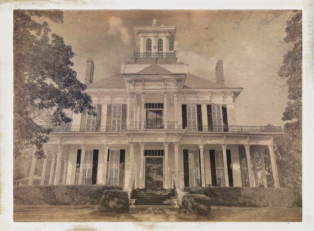 "The comedian Steven Wright had a gag that went something like, ""The weirdest thing happened to me last night. No, wait, it was four years ago."" Now, with the help of a cell phone, a photo app and something to aim at, anyone can experience that sensation. Here's a house in Eufaula, Alabama, photographed in 1867. No, wait, it was today."