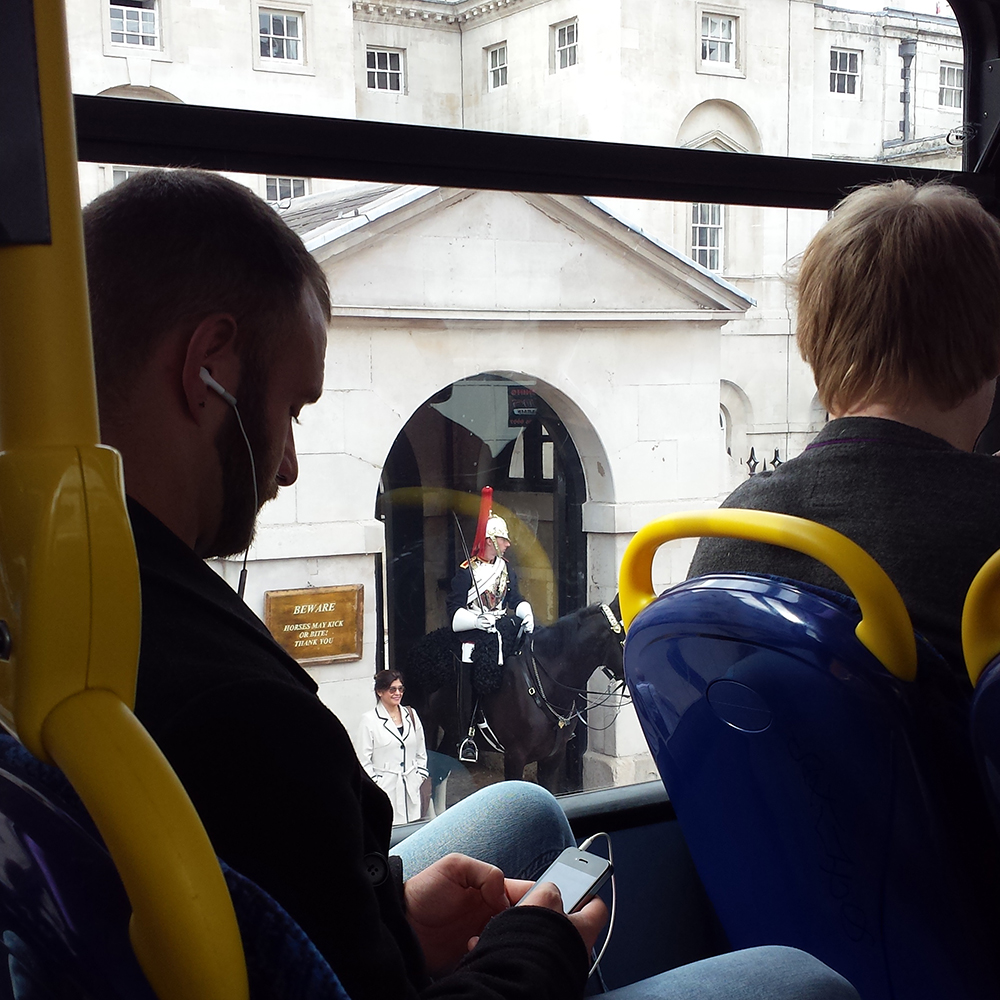 First trip on a double decker bus