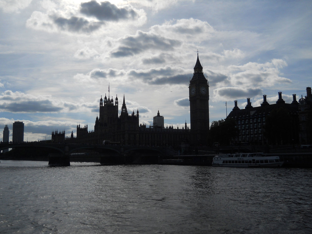 Big Ben and Westminster from Southbank