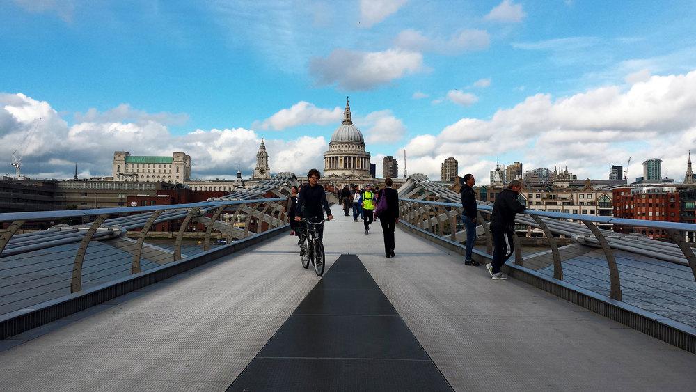 St. Paul's from the Millennium Bridge