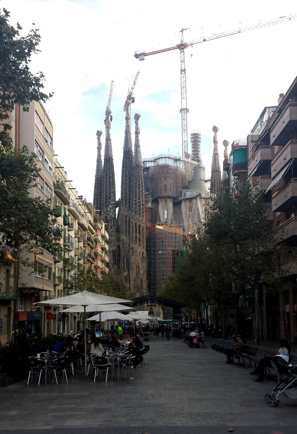 From Gaudi Avenue