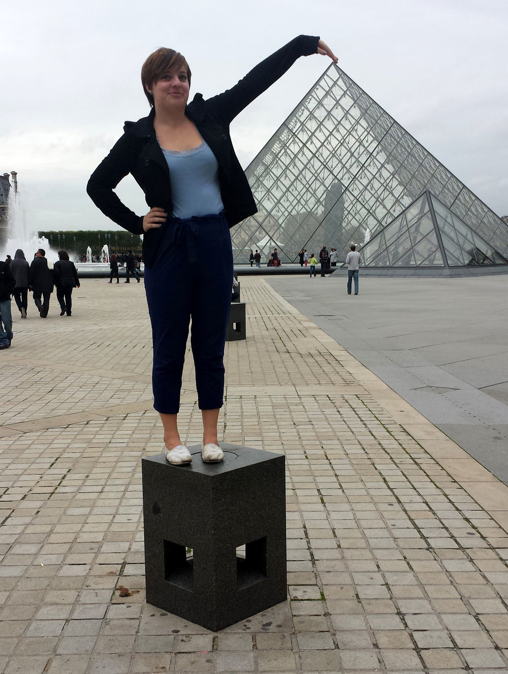 Perhaps the most touristy photo in Paris...