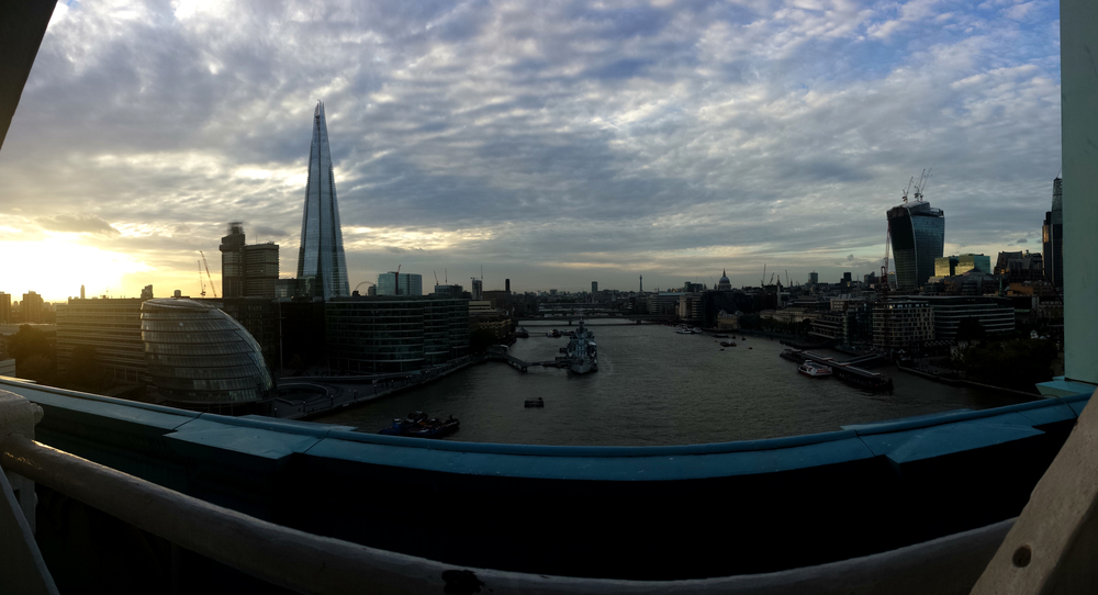 The View from Tower Bridge