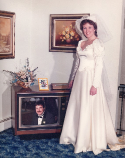 The first Skype wedding