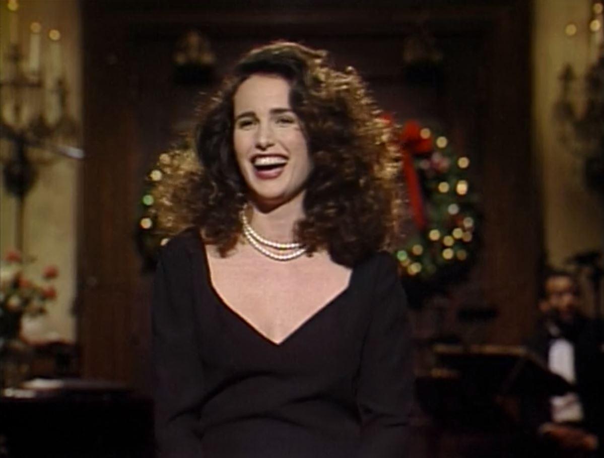 Andie Macdowell Sex Tape snl: s15e09 host: andie macdowell date: december 16, 1989