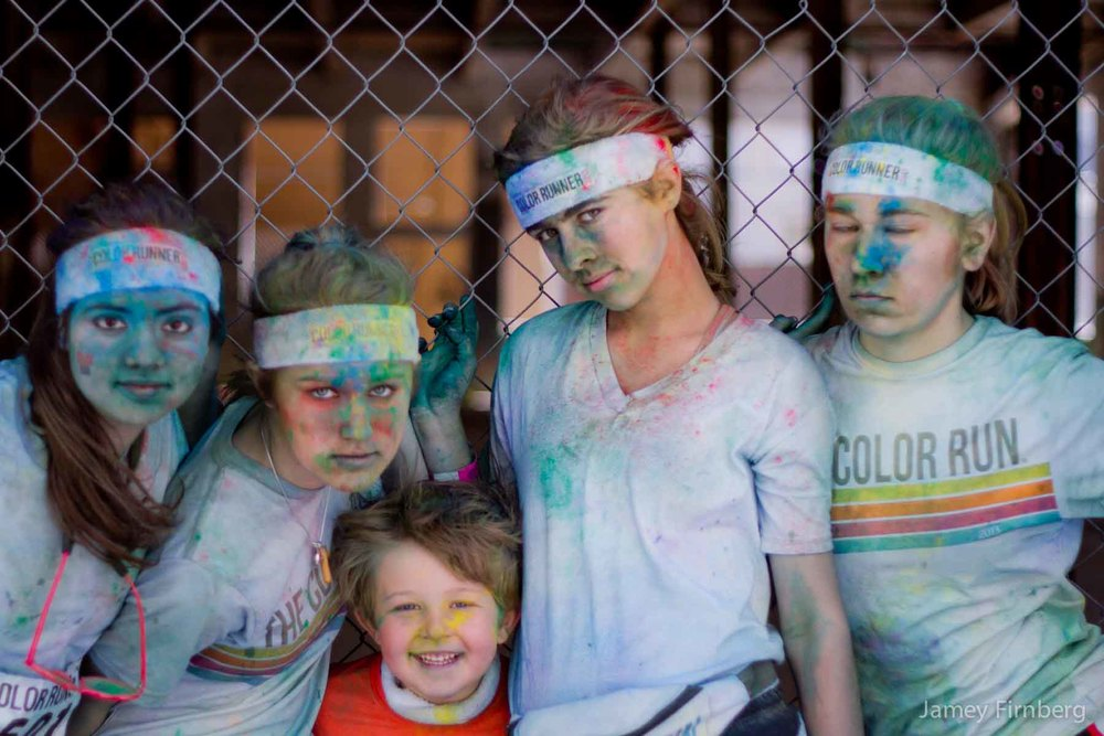 Color Run 16 (5 Images)
