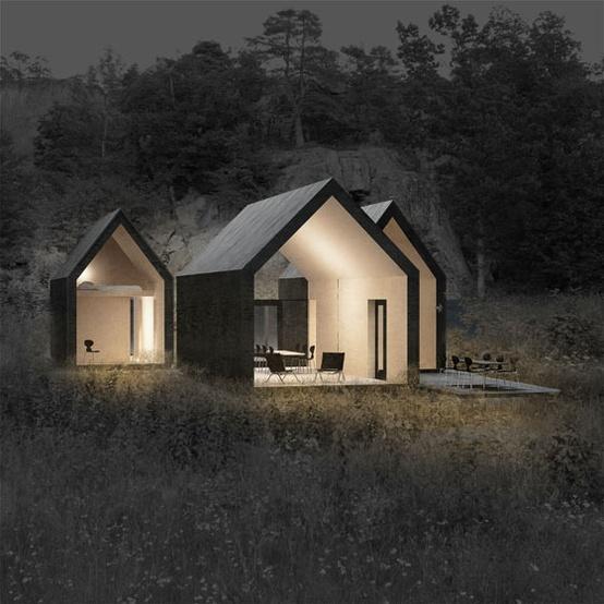Kleine huizen tuinhuizen tuinontwerp of tuinarchitect for Micromaisons minimaliste