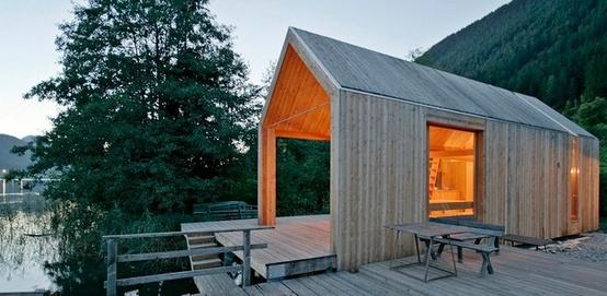 Kleine huizen tuinhuizen tuinontwerp of tuinarchitect for Kleine huizen inrichten
