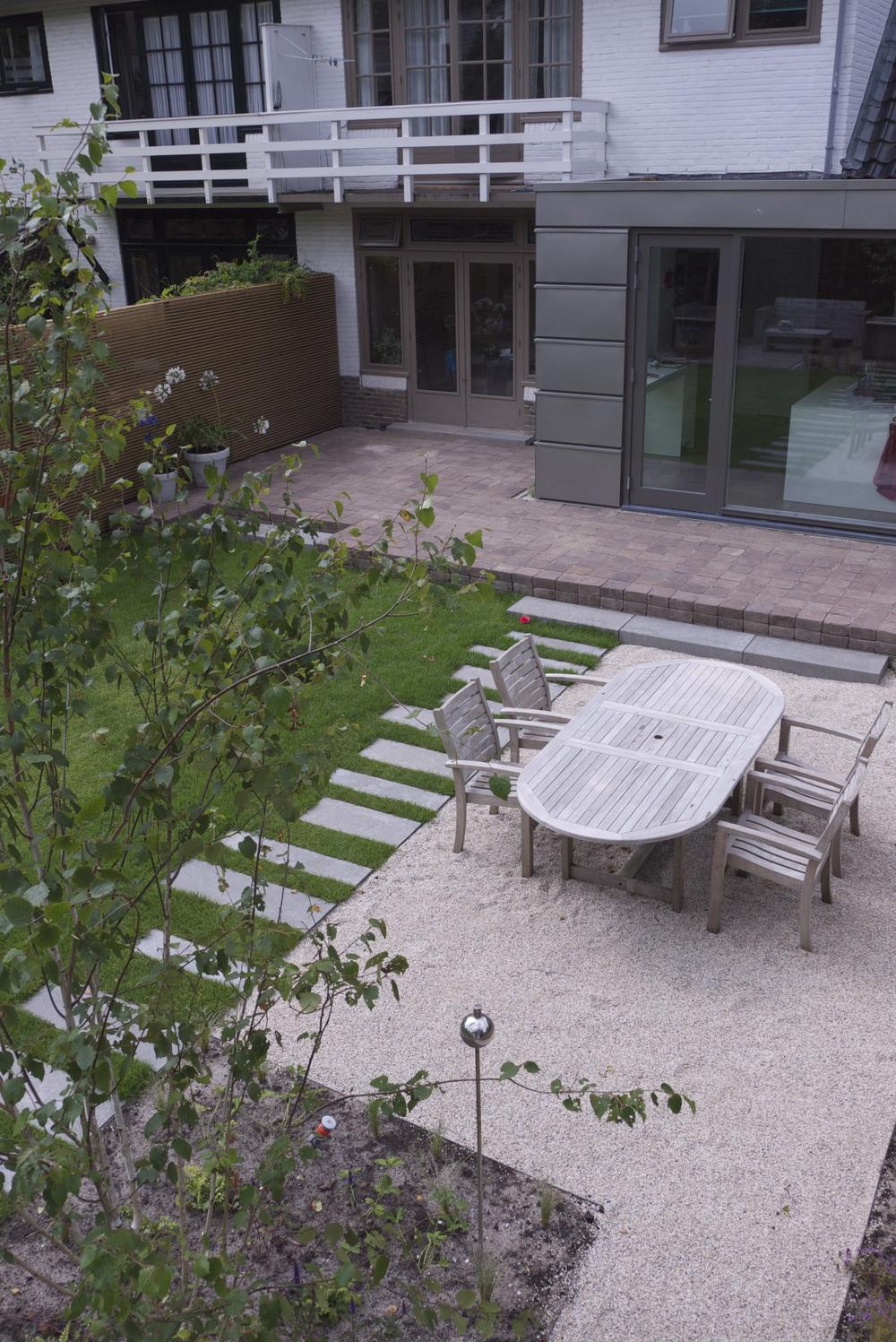 Jaren 30 tuin in bergen tuinontwerp of tuinarchitect for Eigen huis en tuin huis te koop