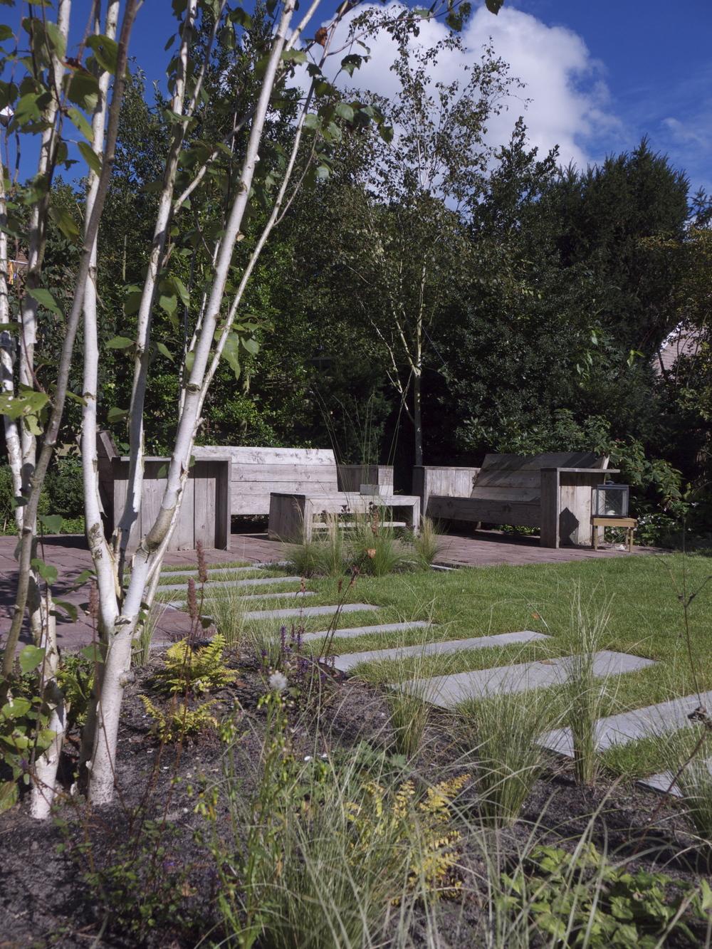 stoere jaren '30 tuin