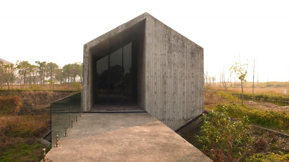 Klein houten huis