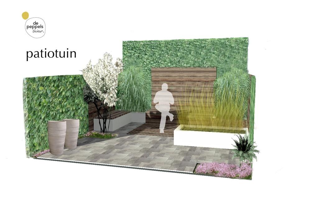 tuinontwerper van stadstuinen in Amsterdam