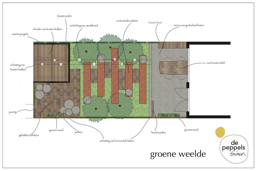 tuinontwerper stadstuin Amsterdam