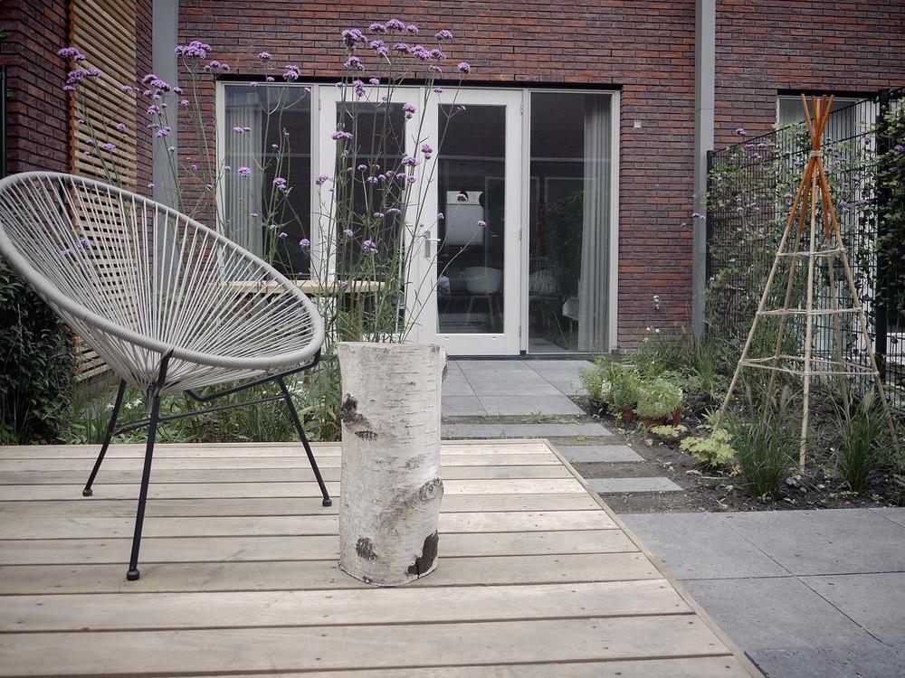 Moderne tuin tuinontwerp of tuinarchitect wij ontwerpen for Moderne kleine tuin