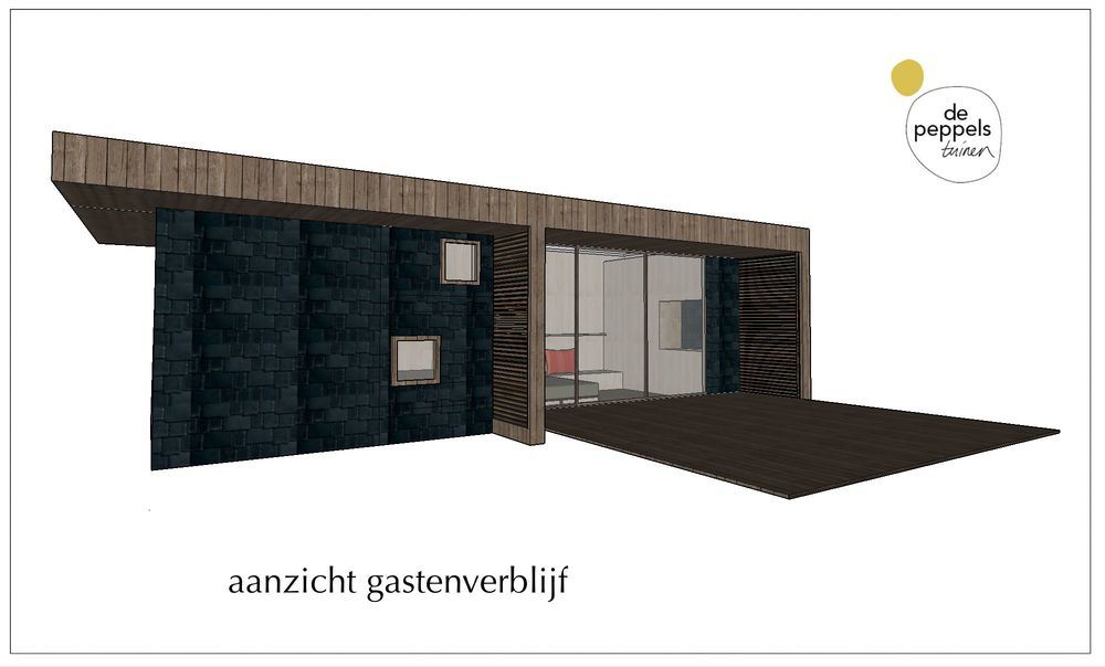 Architect voor een gastenverblijf