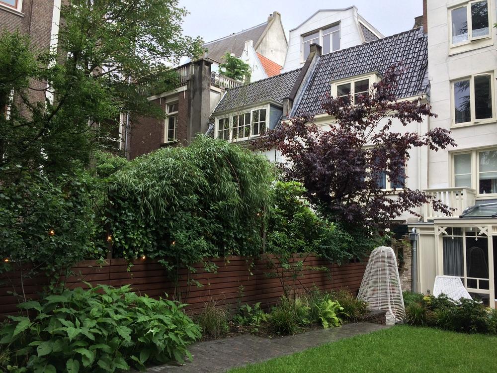 Tuinontwerp stadstuin Amsterdam