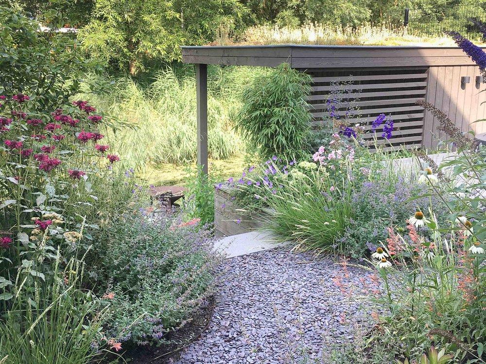tuinontwerp natuurlijke tuin Amsterdam