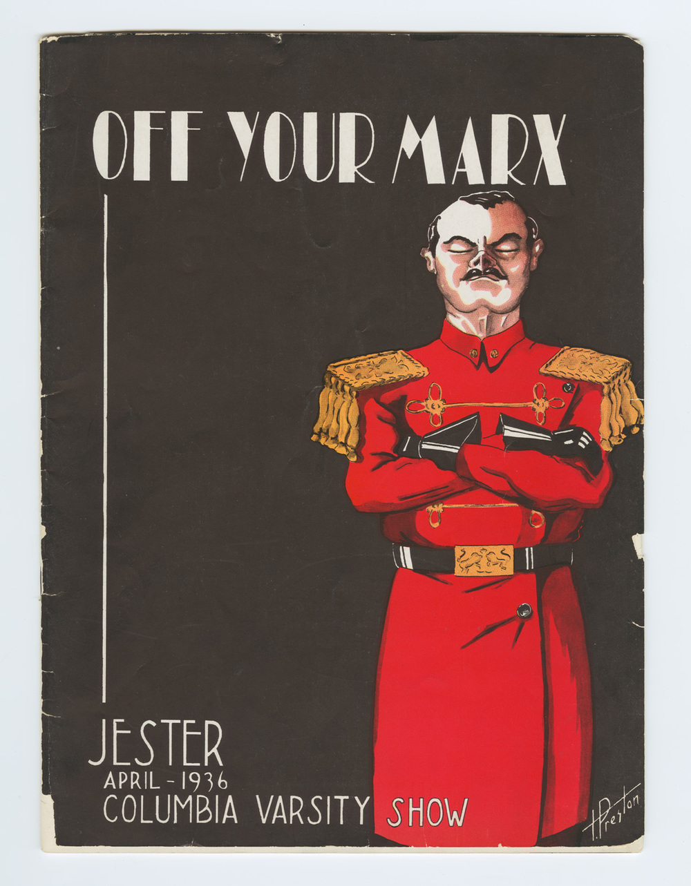 Off Your Marx - program cover 1936.jpg