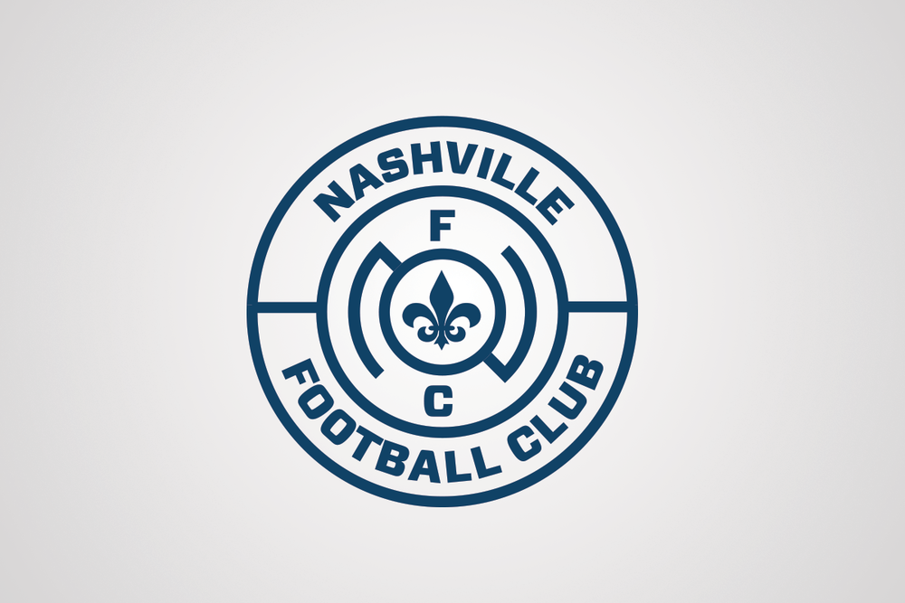 One Color Nashville F.C. Logo (minus the 3 stars on top)