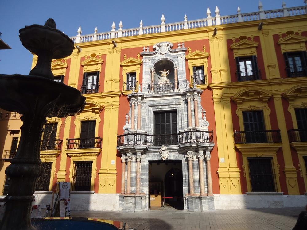 The now glorious Palacio Episcopal!