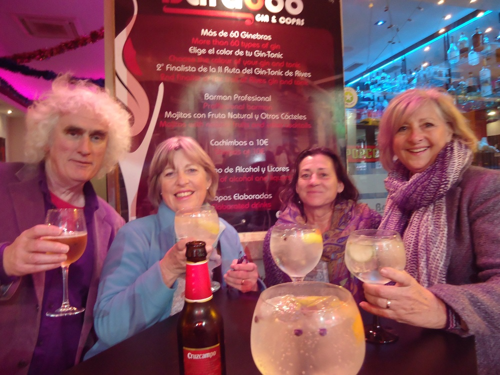 Huge gins...mmmm!