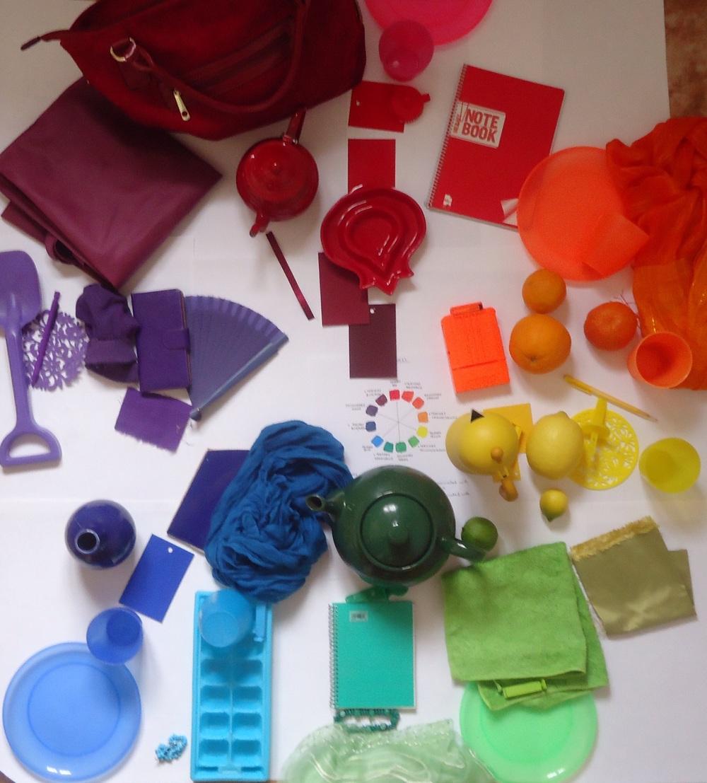 Our colour wheel..