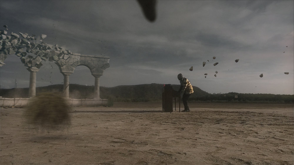 VFX I created for a Wyclef Jean Music Video
