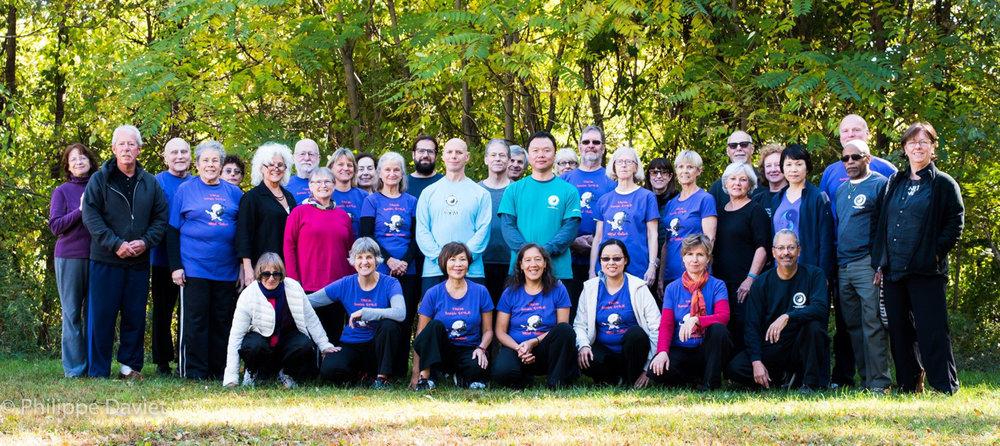 Group photo, by Philippe daviet