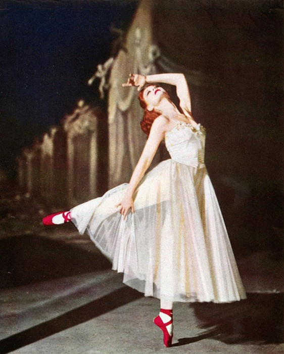 Moira Shearer In 'The Red Shoes' 1948.