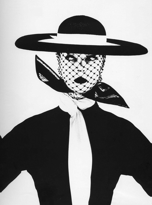Irving Penn For Vogue 1950 / Model Jean Patchett