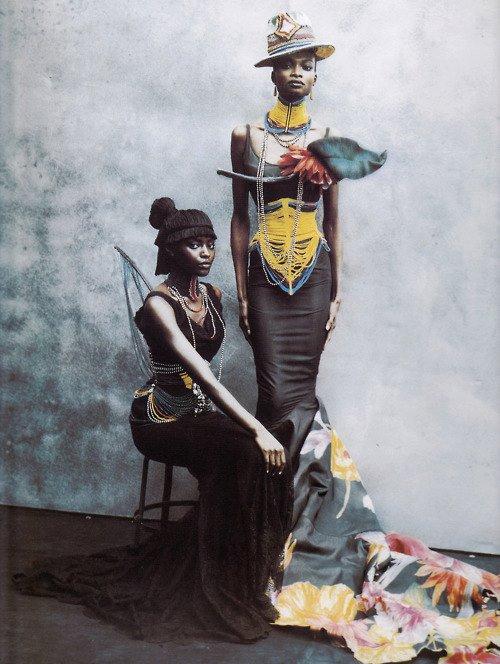 Christian Dior / Haute Couture / KiaraKabukuru / Debra Shaw