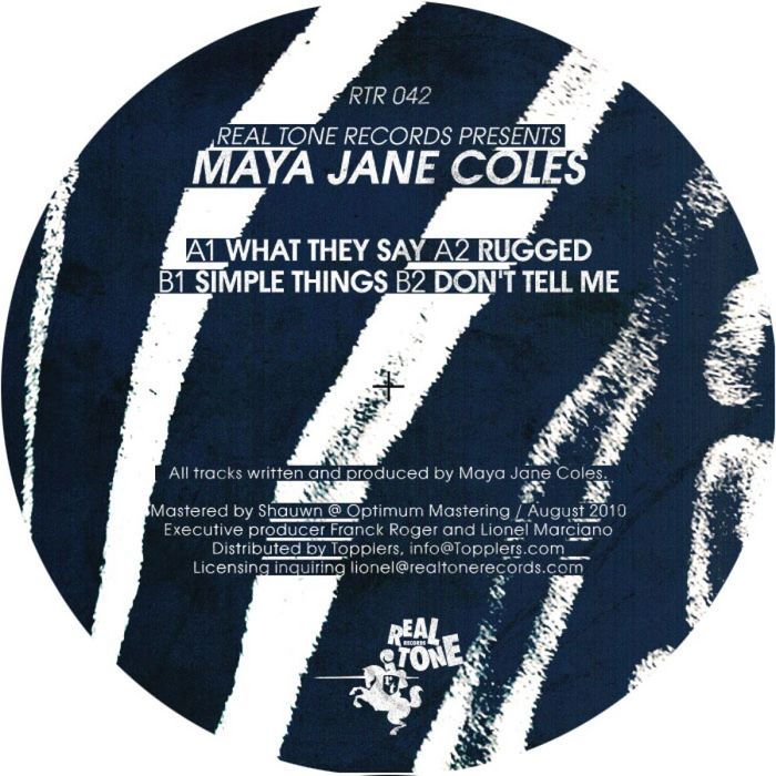 Maya Jane Coles - What They Say